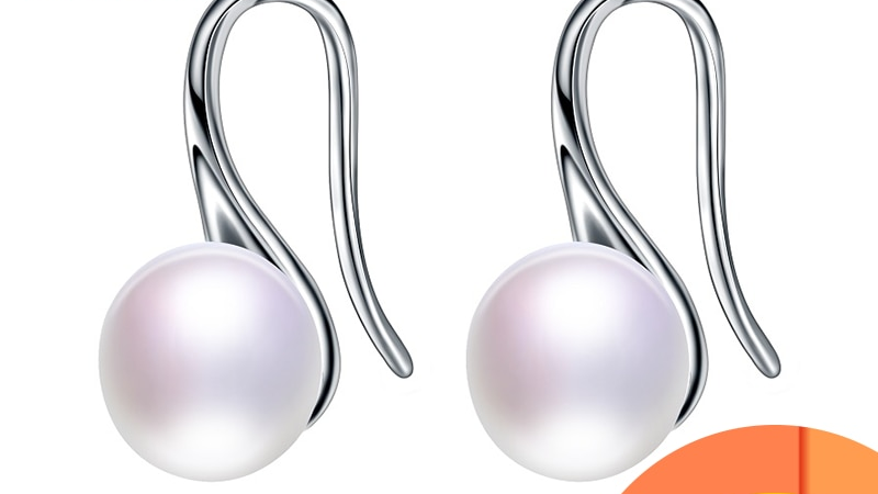 Hot Sale Natural Pearl Earrings for Women Freshwater AAAA Pearl Stud Earring