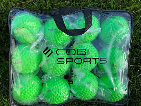 Cobi Sports Wall Balls Green - 12 Pack