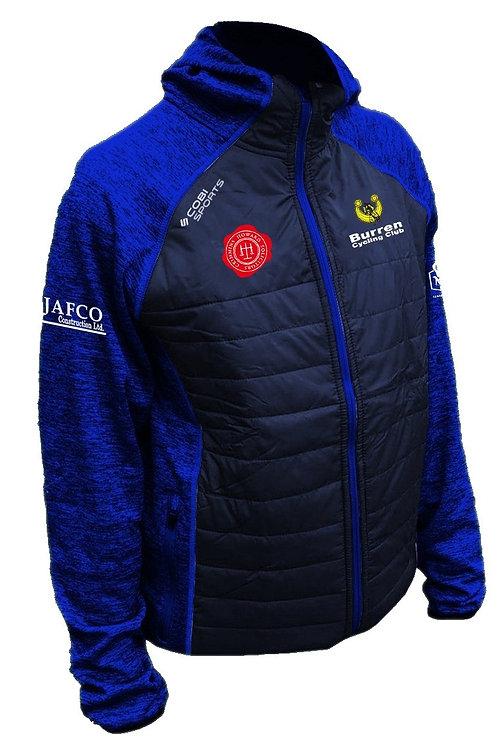 Burren Cycling Club Hybrid Padded Jacket