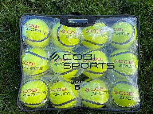 Cobi Sports - Size 5 Sliotar Yellow - 12 Pack