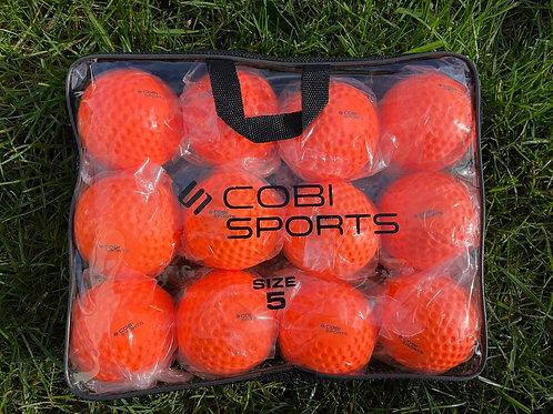 Cobi Sports wall Balls Orange - 12 pack