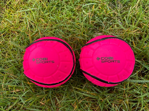 Cobi Sports Rimmed Wall Balls Pink - 2 Pack