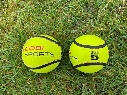 Cobi Sports - Size 5 Sliotar Yellow - 2 Pack