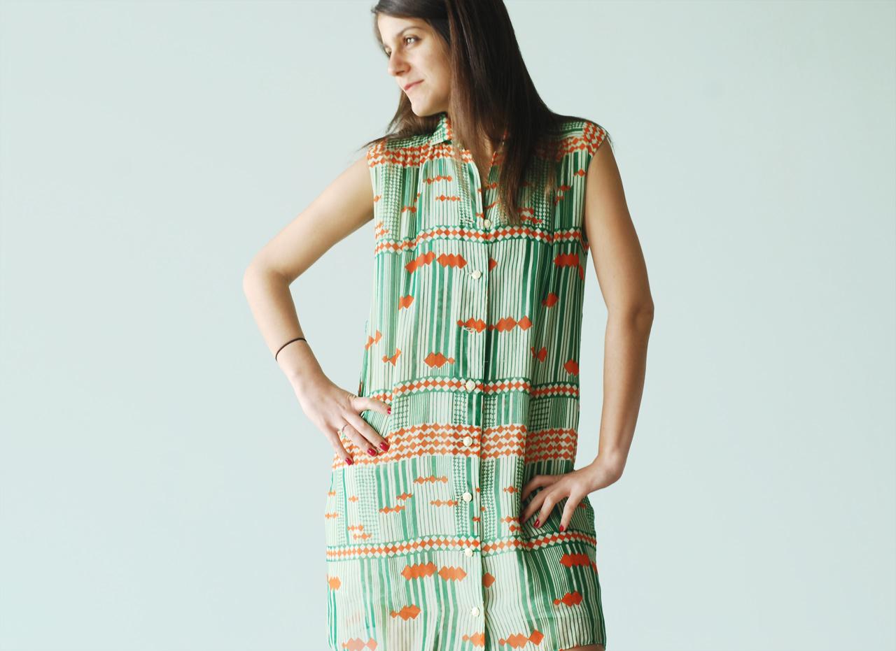 Casual Loose-Fit Dress (Item #10)