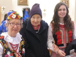 Janina Freyman with family