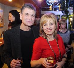Guests Beata and Albert