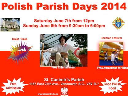 Polish Parish Days 2014