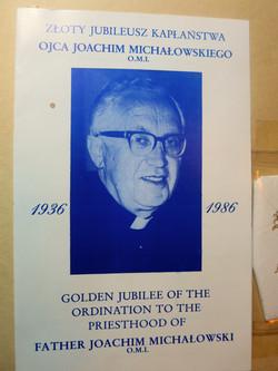 Father Joahim Michalowski O.M.I.