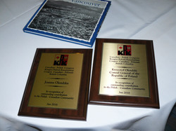 Honorary CPC BC  plaques