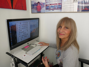 Eva Kupczynski, artist and wife of 50 years.