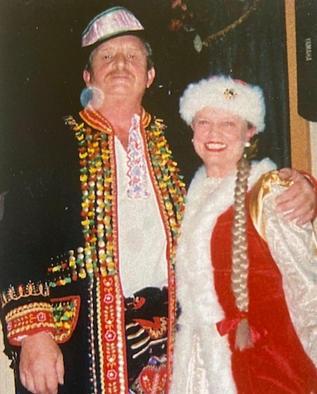 Eddie Gacek and Carol Coulson
