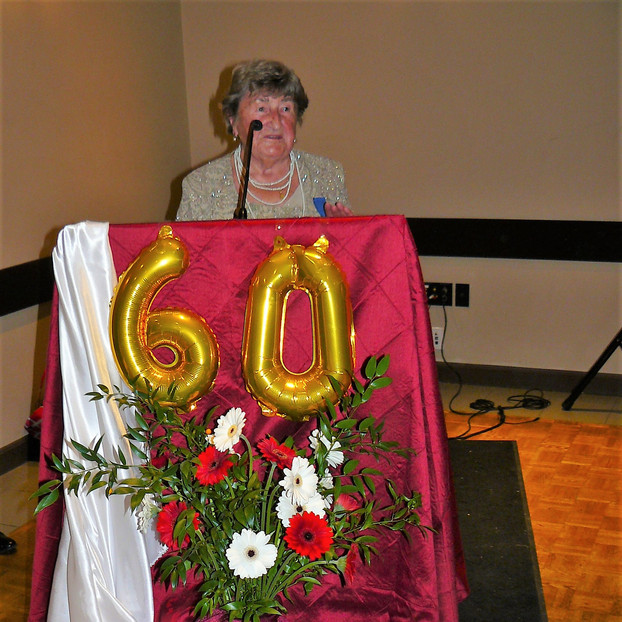 M. Karulis, Past President of Polish Canadian Women Federation in Vancovuer