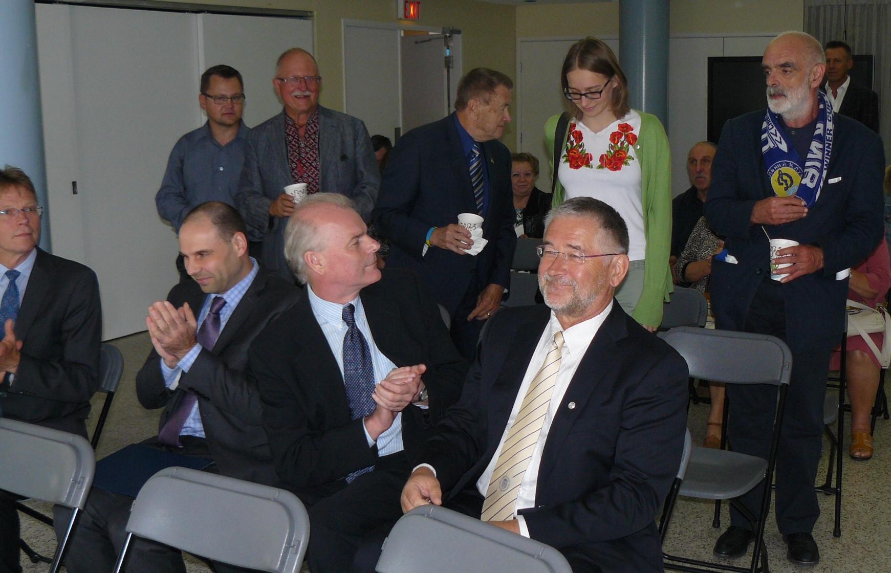 Estonian and Ukrainian Guests