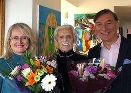 Zbigniew Kupczynski with Iwona Swiatczak , Polish Canadian Congress and Leszek Mazur