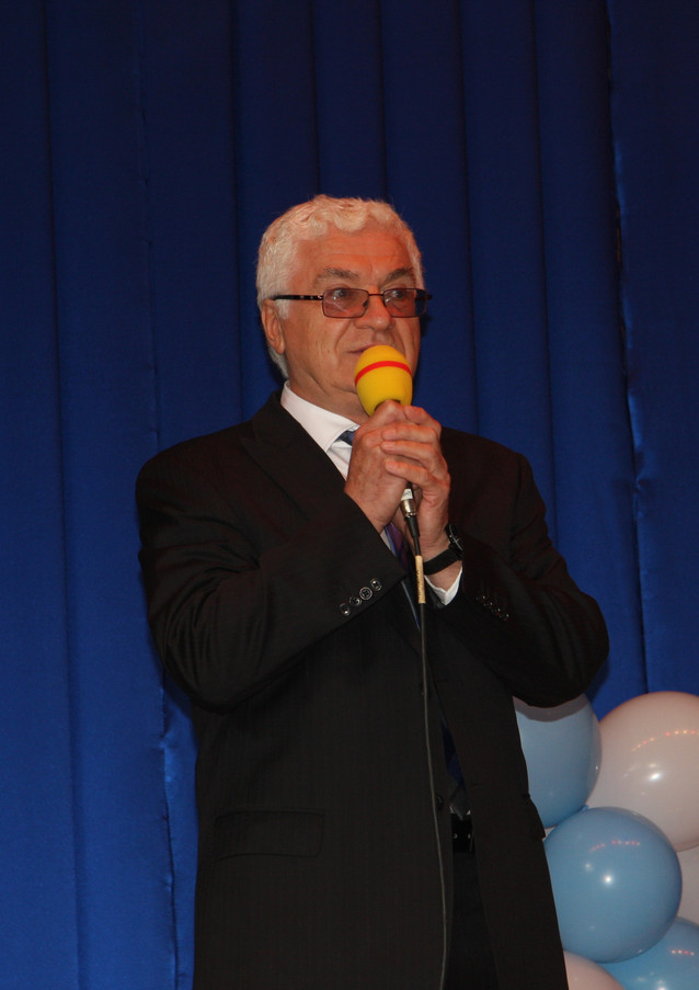 T. Kostka - President of Tri-City Polish Canadian 'Polonez' association