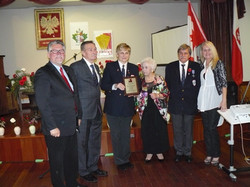 Anniversary Plaque from CPC BC