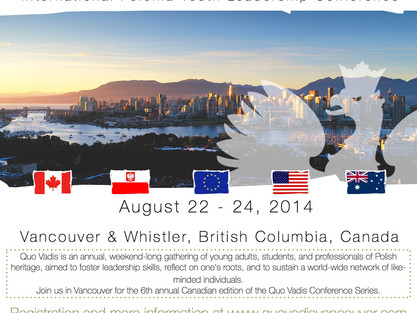 Youth Polonia Lidership Conference in Vancouver