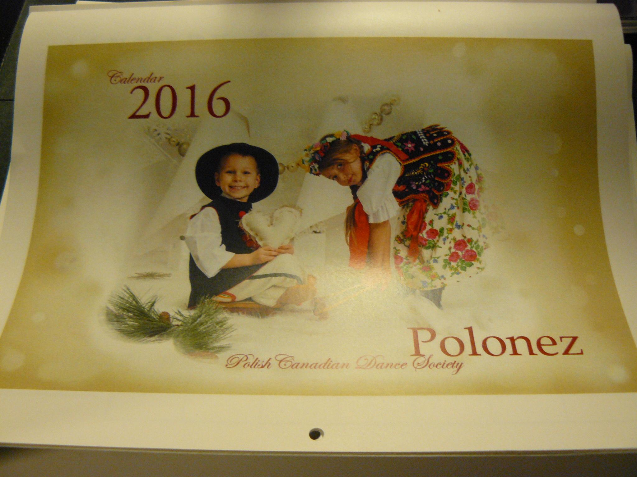 Calendar …