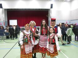 Janina Freyman with her family