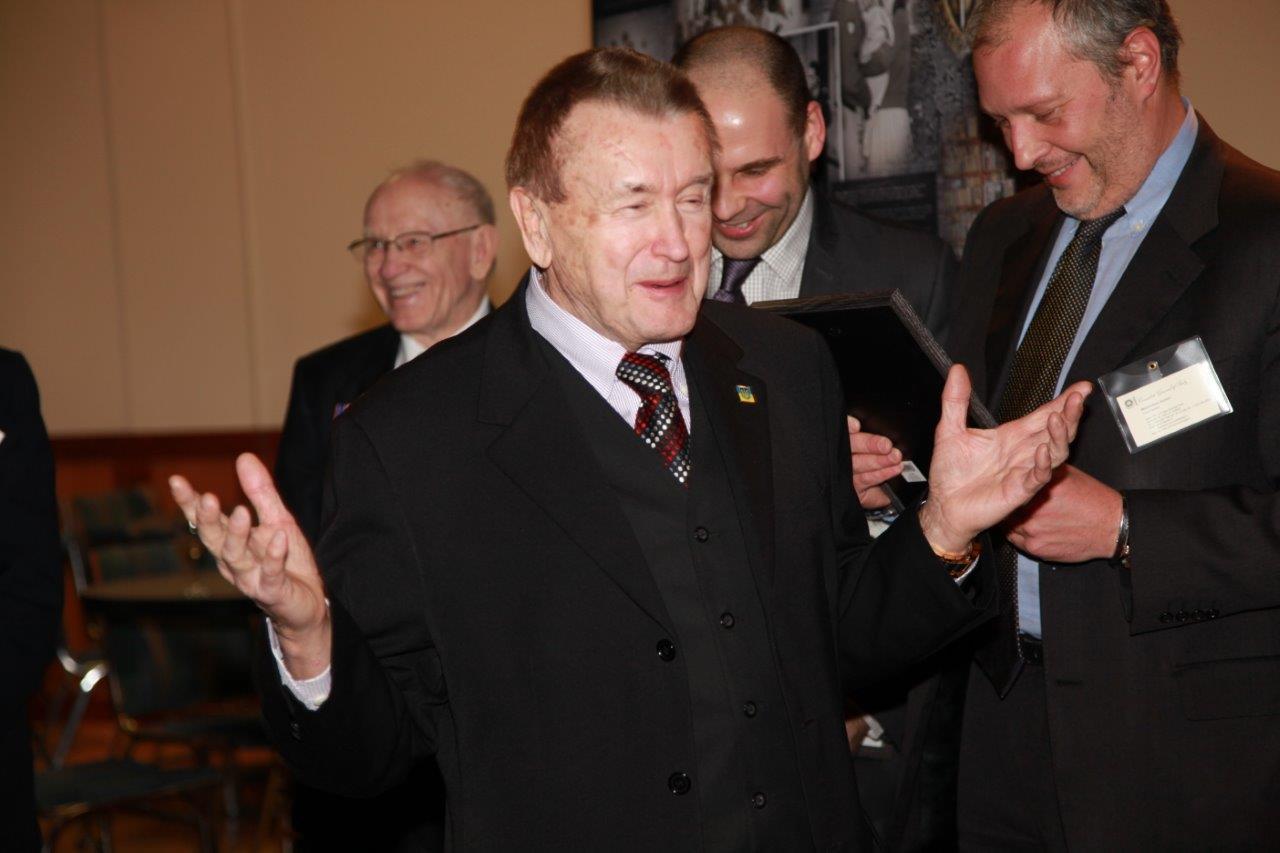 Consul of Ukraine for BC L. Huculak