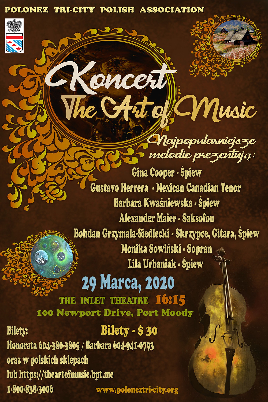 The Art of Music Concert