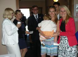 I. Swiatczak with family