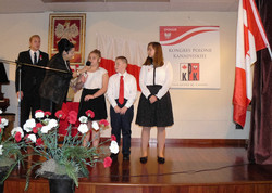 Children from Surrey Polish School