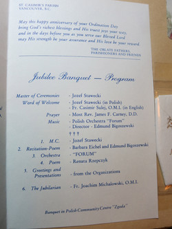 Program - celebrating Golden Jubilee