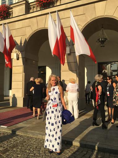 Entering Presidencial Palace