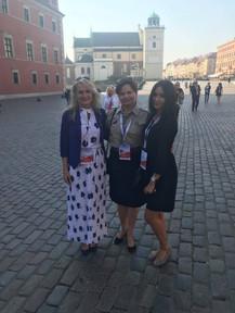 With Barbara and Anastazja