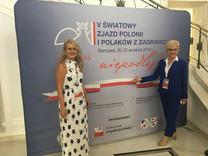 With Grazyna Galezowski, President KPK Manitoba