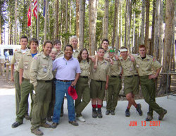 BOY SCOUTS IN HIGH UINTAS