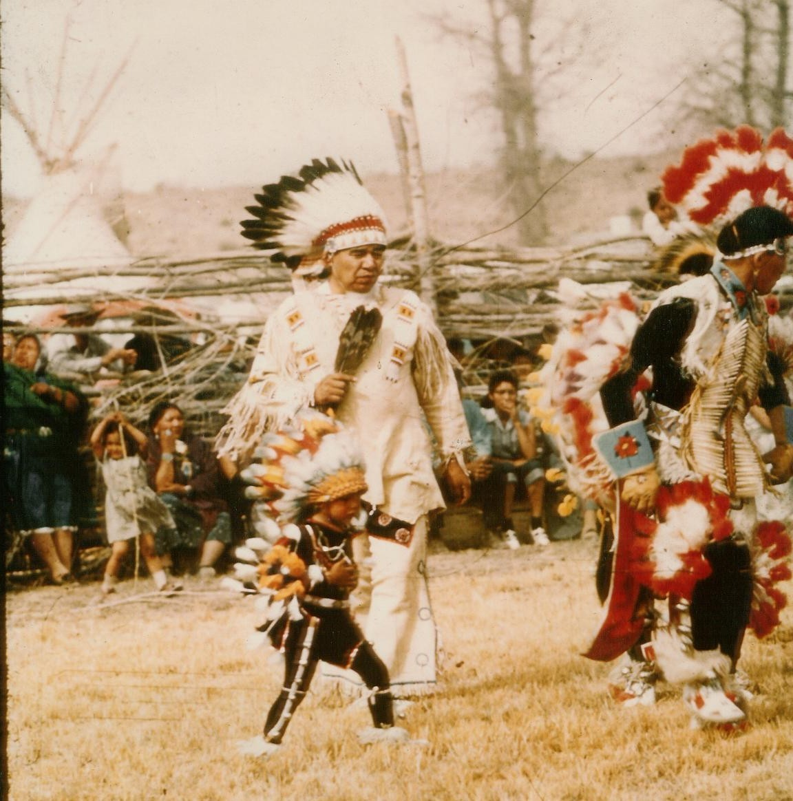 FIRST TURKEY DANCE, OURAY BEAR DANCE
