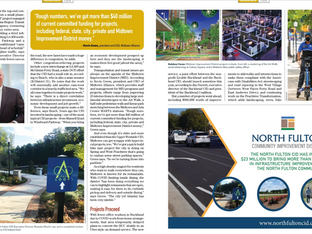 North Fulton CID Projects Featured in Georgia Trend Magazine