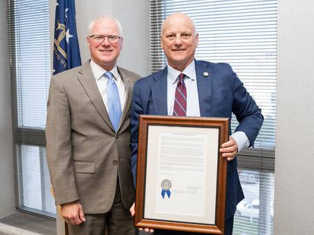 Georgia Department of Transportation Honors North Fulton CID Director Brandon Beach