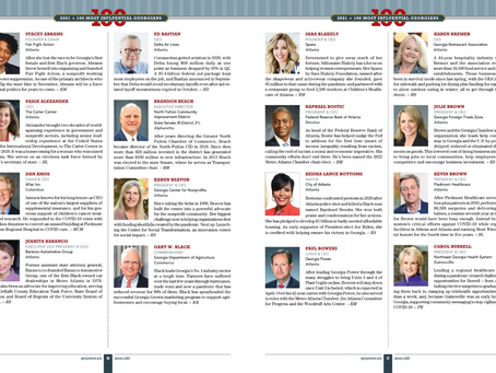 Executive Director, Brandon Beach Named 100 Most Influential Georgians in GA Trend