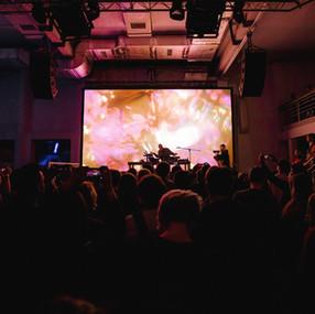LongArm concert visuals
