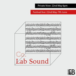 Co.lab sound instgram poster and artist