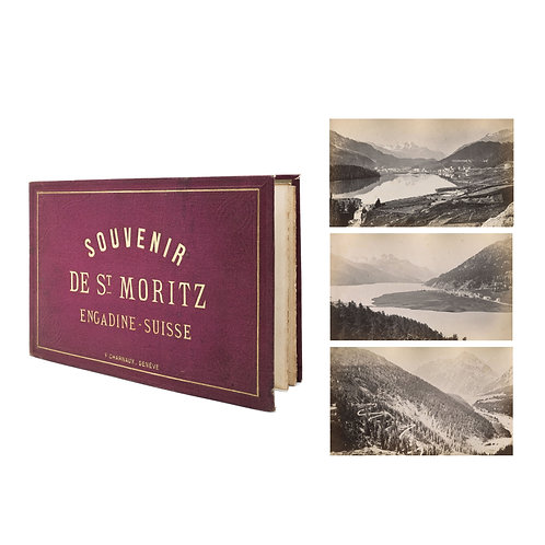 "FLORENTIN CHARNAUX (1832-1883) - ""St Moritz - Engadine - Suisse"""
