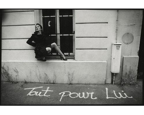"""PHOTOGRAPHE INCONNU (c.1990) - """"Tout pour lui"""""""