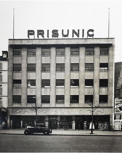 """ALBIN SALAUN (1876-1951) - """"PRISUNIC, Place des Ternes"""""""
