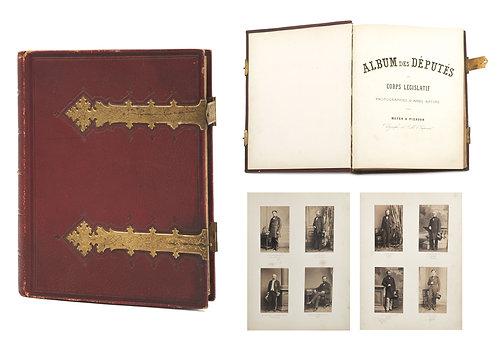 """MAYER & PIERSON (XIX-XX) - """"Album des Députés au Corps Législatif"""" - 1857"""