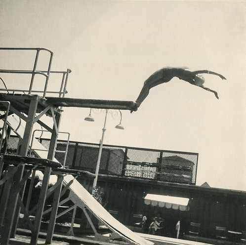 """ANONYME (XXe) - """"The Dive"""""""