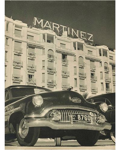 """PIERRE AURADON (1900-1988) – """"HOTEL MARTINEZ"""""""