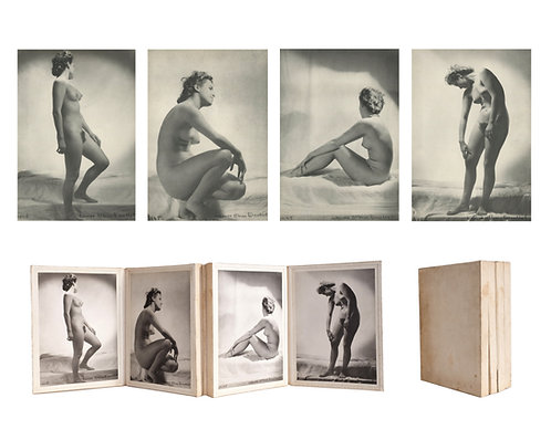 """LAURE ALBIN GUILLOT (1879-1962) - """"Etudes de nus"""""""