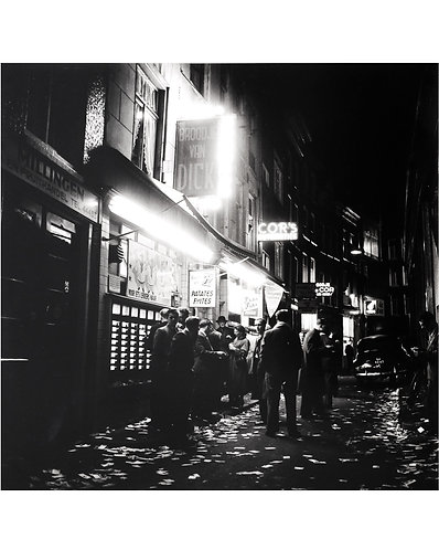 "KEES SCHERER (1920-1993) - ""A night in Amsterdam"""