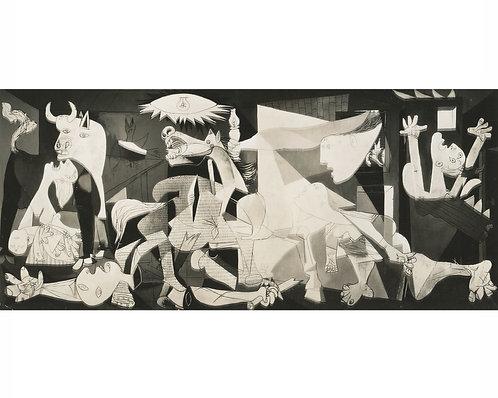 """SOICHI SUNAMI (1885-1971) – """"GUERNICA - PICASSO"""""""
