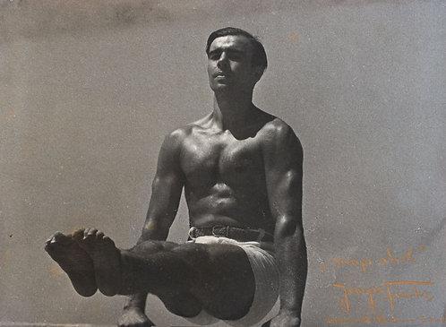 """GEORG FUCHS (c.1925) - """"Gymnast Snap Shot"""""""