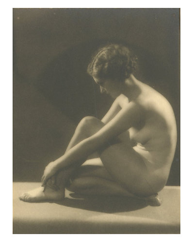 "BERTRAM PERCIVAL PARK (1883-1972)- ""Yvonne Gregory - Nude Study"""