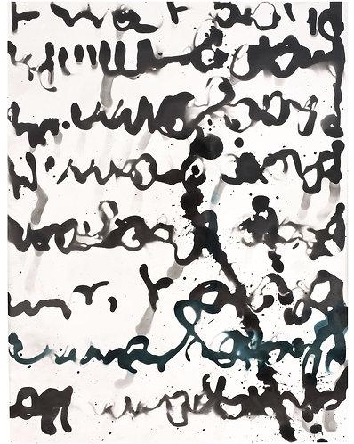 "MARGIT-MARINA MARNUL (1951) - ""Ink Abstration"""